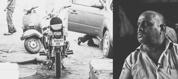 nucleya music, tumbibeatbreaker, bobbee singh , Old Delhi Motorcycles, bike documentary, royal enfield, Documentary, black and white, colorblind production, last eleven,